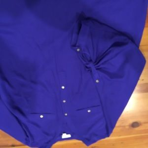 Blue/Purple Blouse